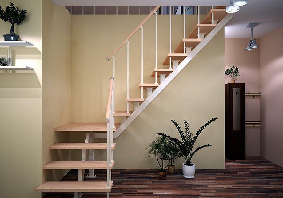 заказать лестницы на монокосоурах из дерева