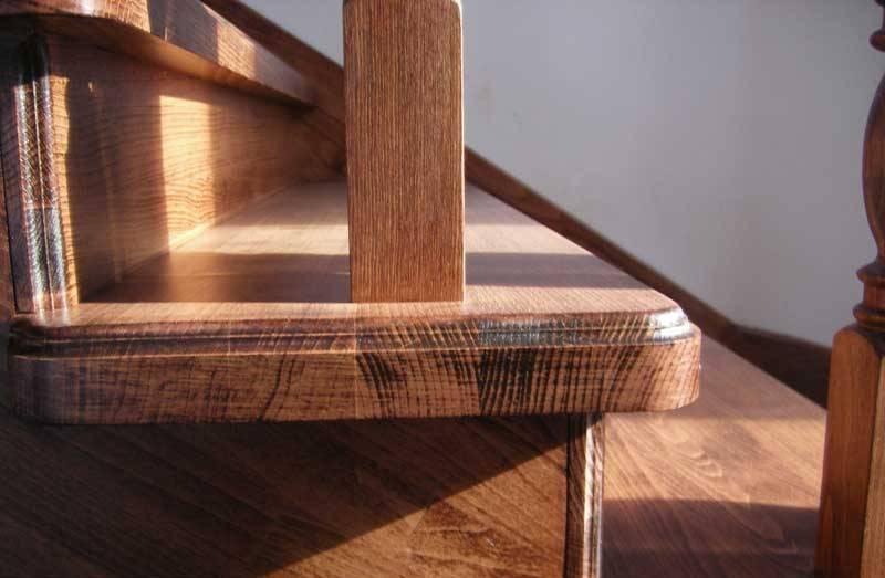 Лестницы из дуба купить